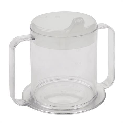 Buy Drive Lifestyle Clear Two Handle Cup