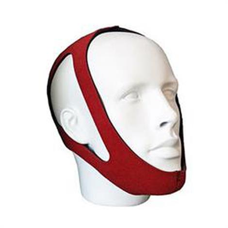 Roscoe Ruby Red CPAP Chin Strap