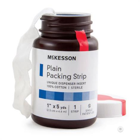 McKesson Plain Packing Cotton Strip