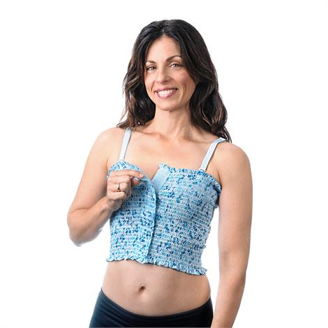 Expand-A-Band Traditional Lined Floral Breast Binder