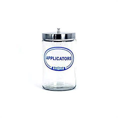 Graham Field Labeled Sundry Applicators Jar