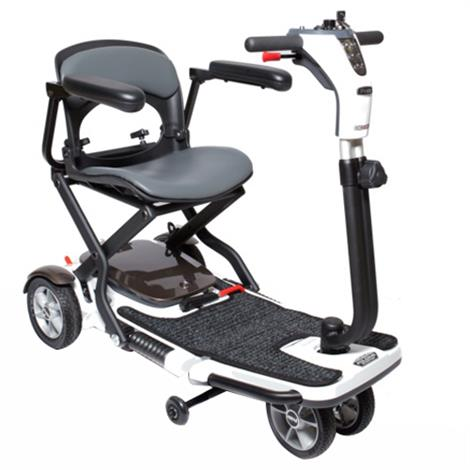 Pride Go-Go Folding Four Wheel Travel Mobility Scooter