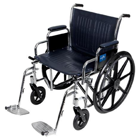 Buy Medline Extra-Wide Manual Wheelchair