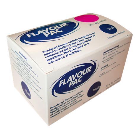 Vitaflo FlavourPac Raspberry Nutrition Powder