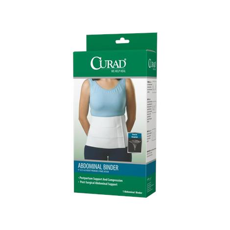 Medline Curad Tri-Panel 9 Inches High Unisex Abdominal Binder