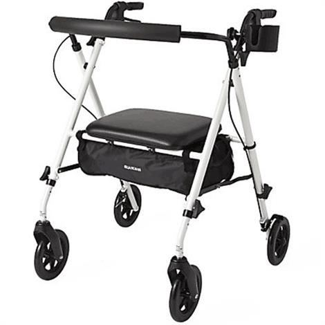 Guardian Luxe Rollator With Extra-Wide Seat