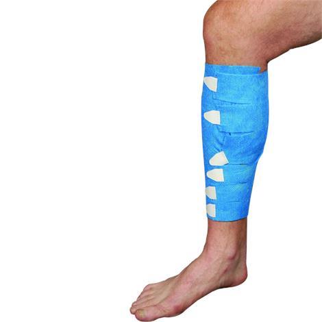 Tapeless Medical Long Leg Wrap Dressing Holder