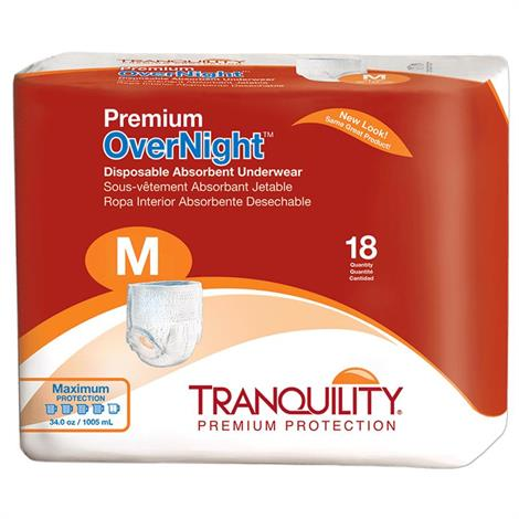 Buy Tranquility Premium OverNight Disposable Absorbent Underwear
