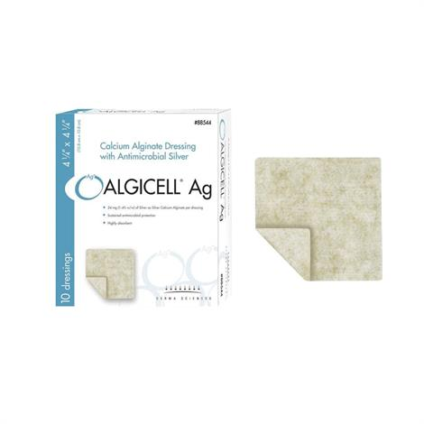 Derma Algicell Ag Calcium Alginate Dressing with Antimicrobial Silver
