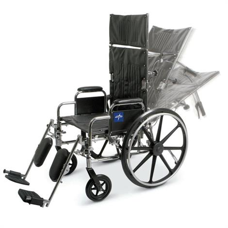 Medline Excel Reclining Manual Wheelchair
