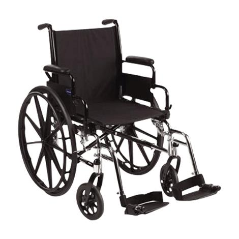 Invacare Tracer SX5 16 Inches Frame Silver Vein Wheelchair