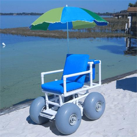 Buy Healthline Medical All Terrain Beach Wheelchair