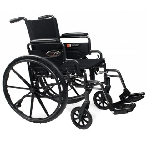 Buy Graham-Field Everest and Jennings Traveler L4 Manual Folding Wheelchair
