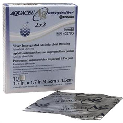 Buy ConvaTec Aquacel Ag Hydrofiber Ribbon Dressing With Strengthening Fiber and Ionic Silver