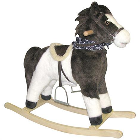 Charm Pinto Beans Horse Rocker