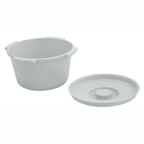 Lumex Everyday 7 qt Commode Pail With cover