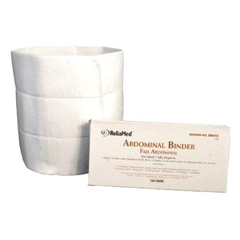 ReliaMed Three Panel 9 Inches Wide Adjustable VELCRO Abdominal Binder