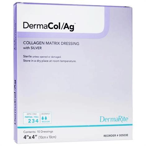 Buy DermaRite DermaCol/Ag Collagen Matrix Dressing with Silver