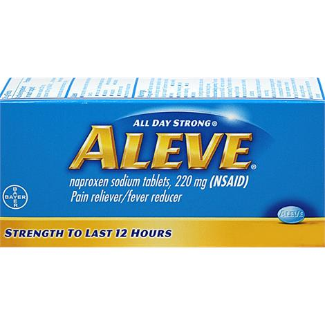 Bayer Aleve All Day Strong Pain Reliever Caplet