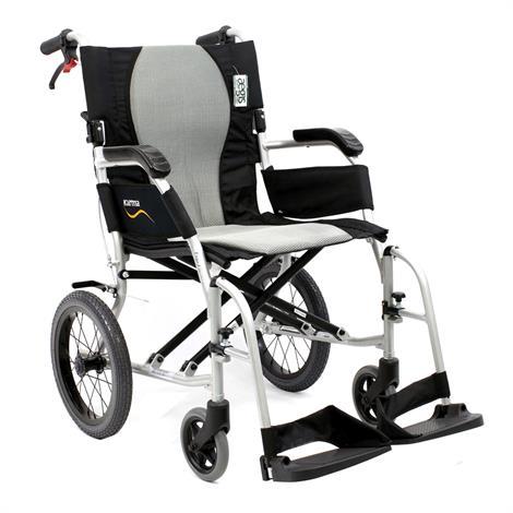 Karman Healthcare Ergo Flight-TP Ultra Lightweight Transport Wheelchair