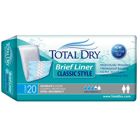 Buy Secure Personal Care TotalDry Brief Liner