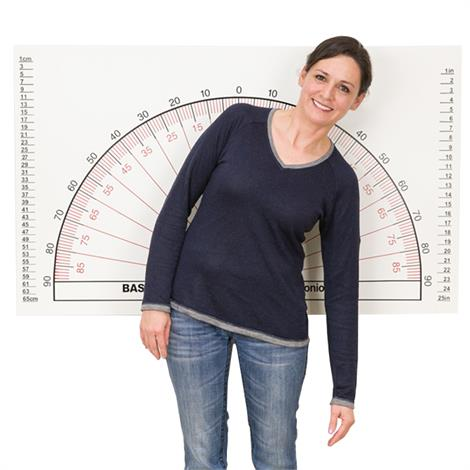 Baseline Posture Evaluation Adjustable Wall-Mount Goniometer