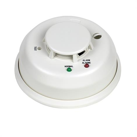 Silent Call Smoke Detector with Built-In Transmitter