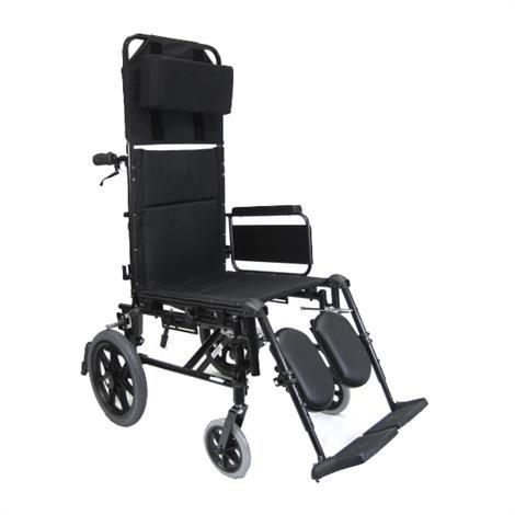 Karman Healthcare KM-5000-TP Ultralight Transport Reclining Wheelchair