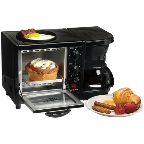 Elite Cuisine Multifunction 3-in-1 Breakfast Center | Appliances