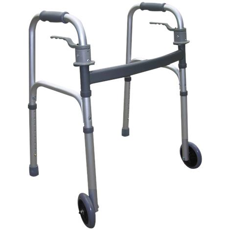 Essential Medical Endurance Fixed Wheels Junior Trigger Release Walker