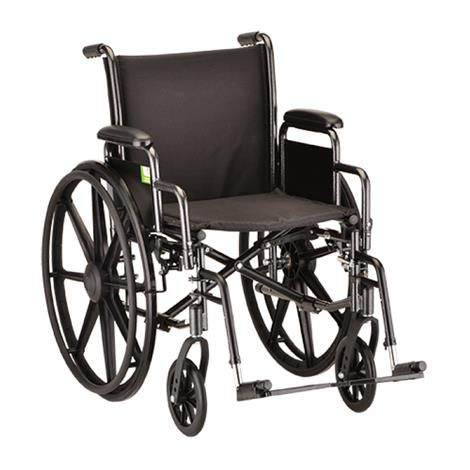 Buy Nova Medical Med Standard Steel Wheelchair