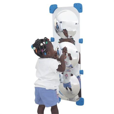Buy Childrens Factory 3 Bubble Border Mirror