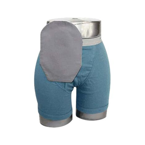 Buy C&S Daily Wear Close End Gray Ostomy Pouch Cover