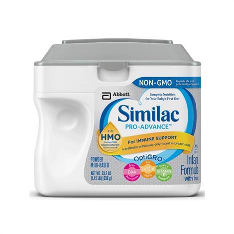 Buy Abbott Nutrition Similac Pro-Advance OptiGro Infant Formula With Iron Milk-Based Powder