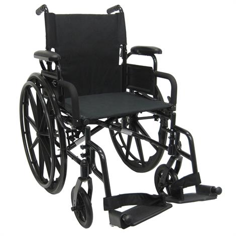 Buy Karman Healthcare 802-DY-Ultra Lightweight Manual Wheelchair With Swing Away Legrest