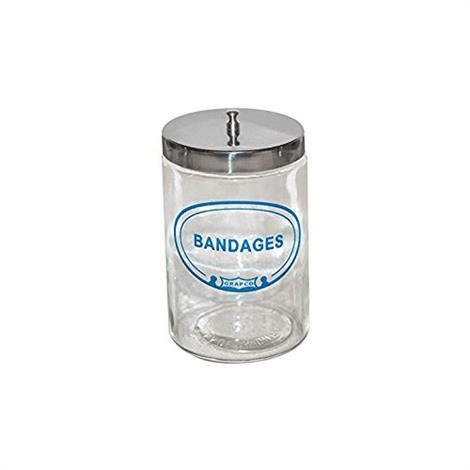 Graham Field Labeled Sundry Bandages Jar