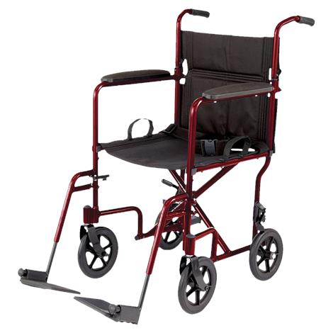 Buy Medline Aluminum Transport Chair With 8 Inch Wheels