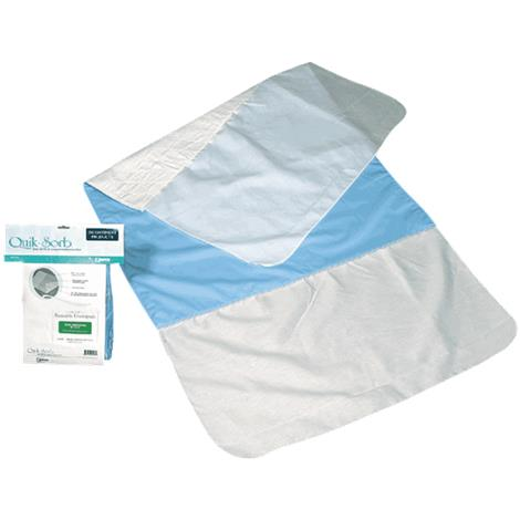 Buy Essential Medical Quik-Sorb Birdseye Deluxe Cotton Reusable Underpad With Tucks