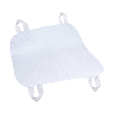 Essential Medical Quik-Sorb Brushed Polyester Underpad With Positioning Straps