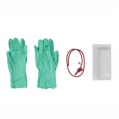Medline Suction Poly-Cath Catheter Mini Tray with Gloves