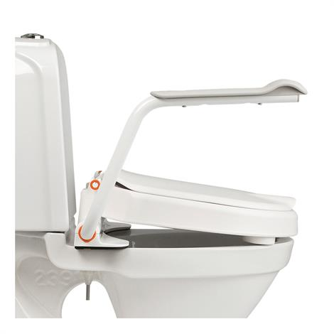 Buy Etac Hi-Loo Raised Toilet Seat with Armrests