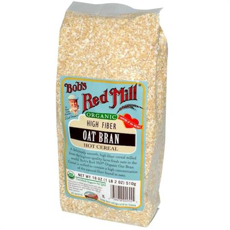 Bobs Red Mill Oat Bran Bulk Cereals