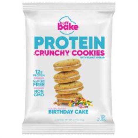 Buff Bake Protein Crunchy Sandwich Cookies