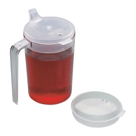 Buy Clear Cup With Two Lids
