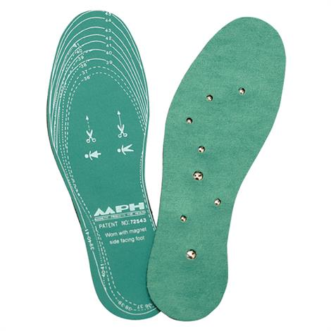 Lhasa OMS Magnetic Green Foam Insoles