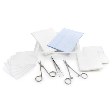 McKesson Sterile Laceration Tray With Instruments