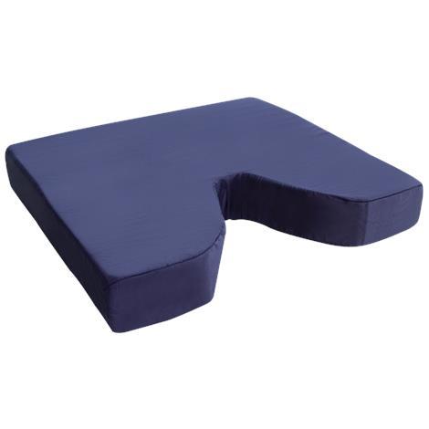 Essential Medical Plaid Coccyx Cushion