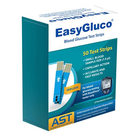 EasyGluco G2 Blood Glucose Test Strips