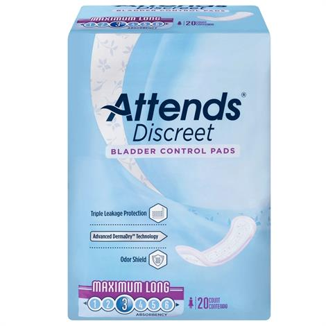 Buy Attends Discreet Bladder Control Pads