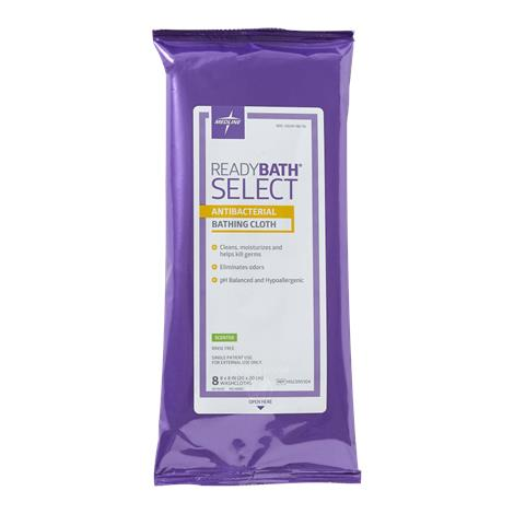 Medline ReadyBath SELECT Medium Weight Cleansing Washcloths